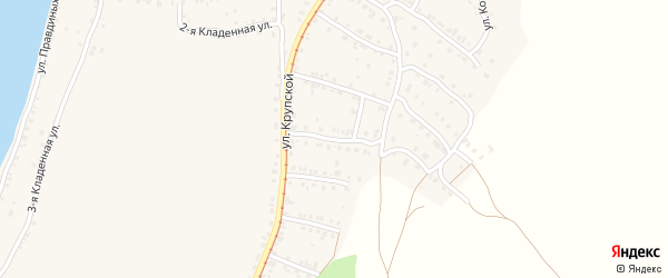 Территория ПКС Вагоностроитель-3 Улица 4 на карте Усть-Катава с номерами домов