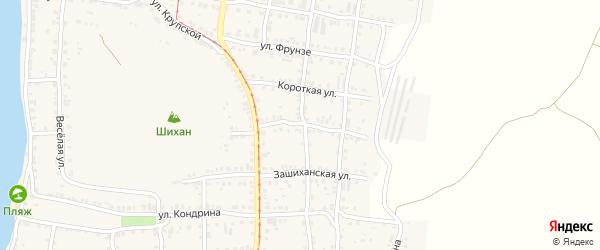 Улица Степана Разина на карте Усть-Катава с номерами домов