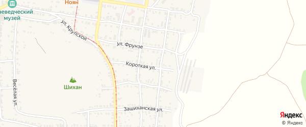 Улица ПК Автолюбитель-11 Короткая 26 на карте Усть-Катава с номерами домов
