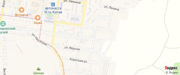 Улица ПК Автолюбитель-12 Братьев Мохначевых 97 на карте Усть-Катава с номерами домов