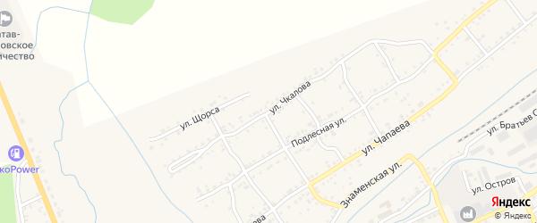 Улица Чкалова на карте Катава-Ивановска с номерами домов