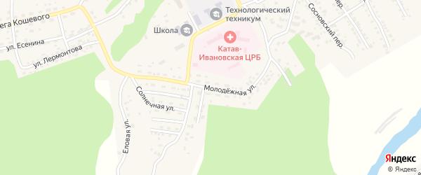 Молодежная улица на карте Катава-Ивановска с номерами домов
