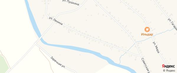 Улица Ленина на карте села Большей Оки с номерами домов
