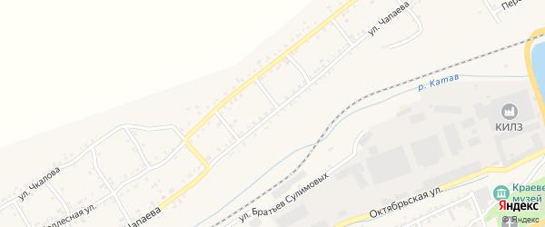 Улица Чапаева на карте Катава-Ивановска с номерами домов