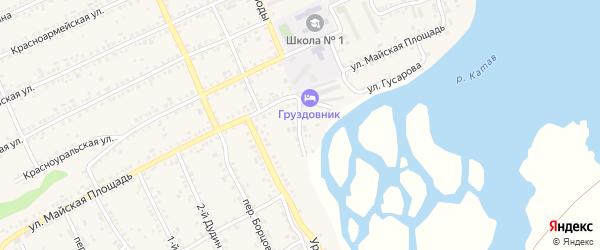 Улица Нагорнова на карте Катава-Ивановска с номерами домов