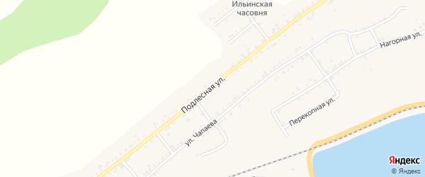 Подлесная улица на карте Катава-Ивановска с номерами домов