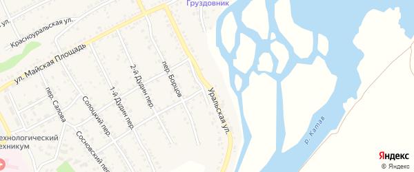 Уральская улица на карте Катава-Ивановска с номерами домов