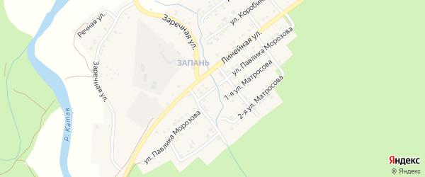 Улица Павлика Морозова на карте Катава-Ивановска с номерами домов