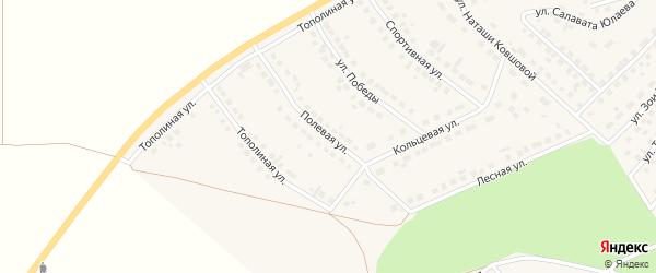 Полевая улица на карте села Месягутово с номерами домов