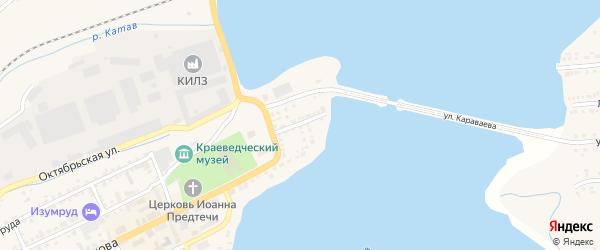 Улица Фигичева на карте Катава-Ивановска с номерами домов