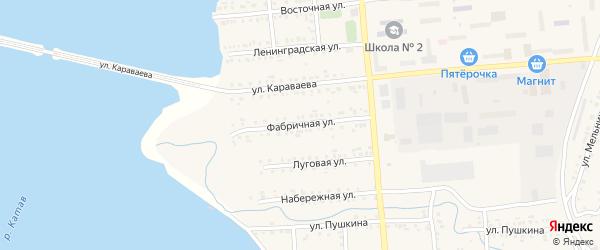 Фабричная улица на карте Катава-Ивановска с номерами домов
