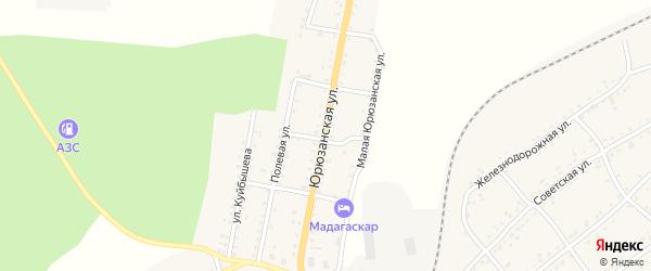 Юрюзанская улица на карте Катава-Ивановска с номерами домов