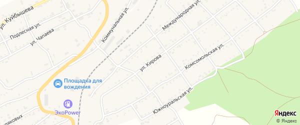 Улица Кирова на карте Катава-Ивановска с номерами домов