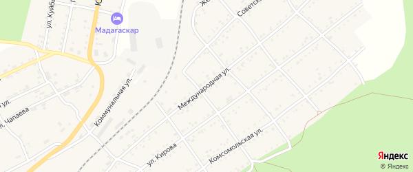 Международная улица на карте Катава-Ивановска с номерами домов