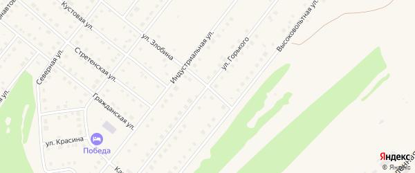 Улица Злобина на карте села Месягутово с номерами домов