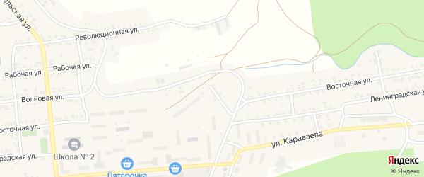 Восточная улица на карте Катава-Ивановска с номерами домов