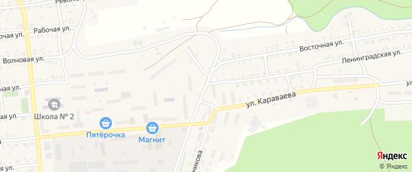 Ленинградская улица на карте Катава-Ивановска с номерами домов