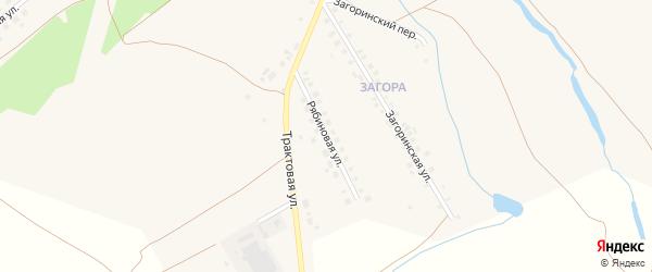 Рябиновая улица на карте села Месягутово с номерами домов
