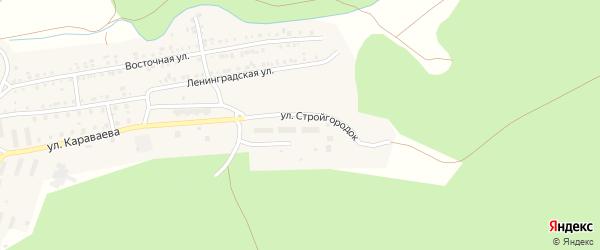 Улица Стройгородок на карте Катава-Ивановска с номерами домов