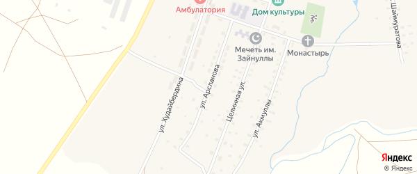 Улица Арсланова на карте села Уфимского с номерами домов