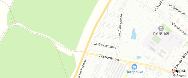 Улица М.Карима на карте Баймака с номерами домов