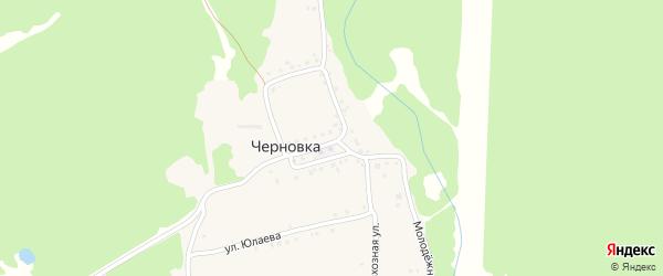 Улица Дуслык на карте деревни Черновки с номерами домов