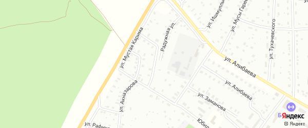Куянтауская улица на карте Баймака с номерами домов