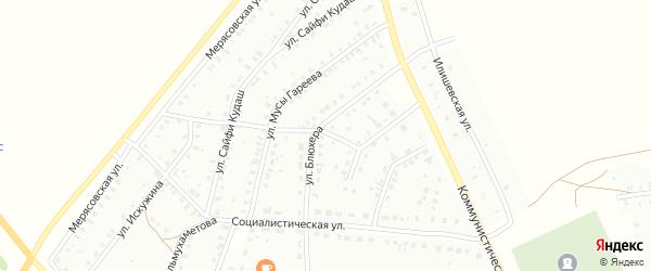 Кульюртауская улица на карте Баймака с номерами домов