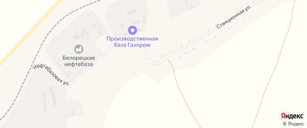 Станционная улица на карте села Железнодорожного с номерами домов
