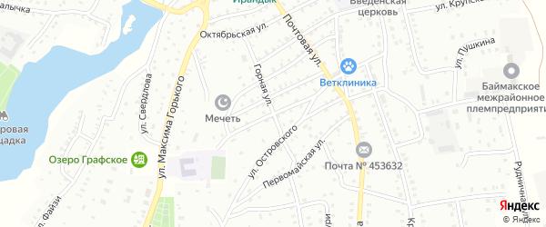 Улица С.Халтурина на карте Баймака с номерами домов