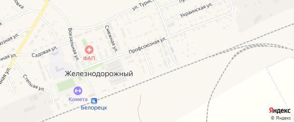 Промысловая улица на карте села Железнодорожного с номерами домов