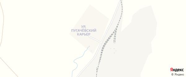 Улица Пугачевский Карьер на карте села Железнодорожного с номерами домов