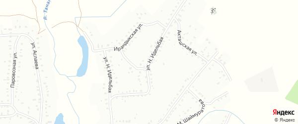 Н.Идельбая улица на карте Баймака с номерами домов