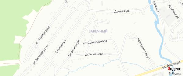 Улица Григорьева на карте Белорецка с номерами домов