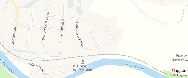 Улица Морозова на карте поселка Вязовой с номерами домов