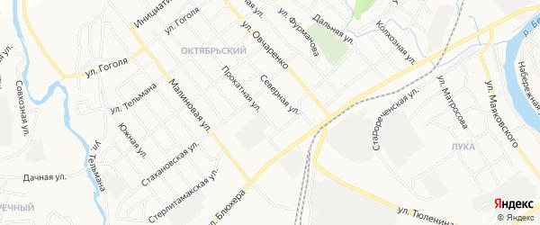 ГСК Прокатная1 на карте Прокатной улицы с номерами домов