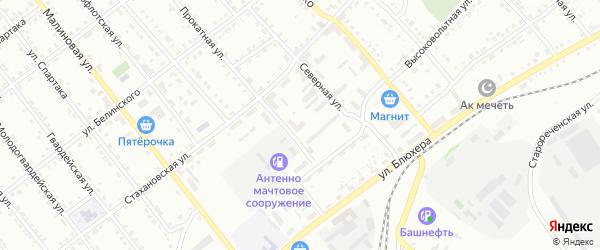 ГСК Блок 1 на карте гаражно-строительного кооператива Прокатная1 с номерами домов