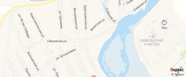 Улица Штырляева на карте села Ломовка с номерами домов