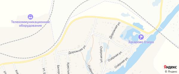 Дорожная улица на карте села Ломовка с номерами домов