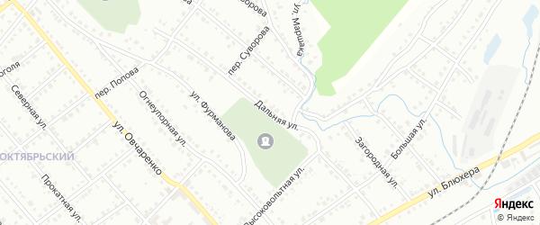 Дальняя улица на карте Белорецка с номерами домов