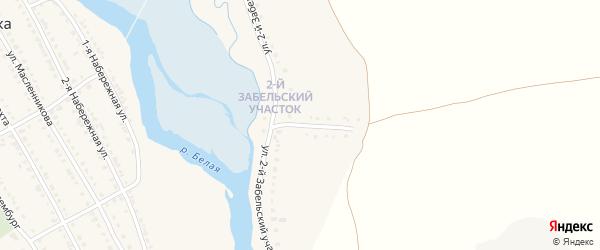 Улица 2 Забельский участок на карте села Ломовка с номерами домов