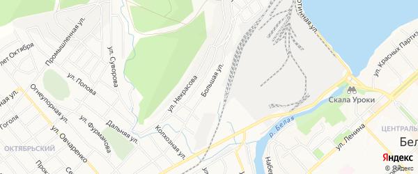ГСК Сталепроволочник на карте Большей улицы с номерами домов