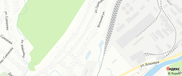 Большая улица на карте Белорецка с номерами домов