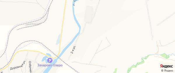 СНТ Уралочка на карте сада Уралочки с номерами домов
