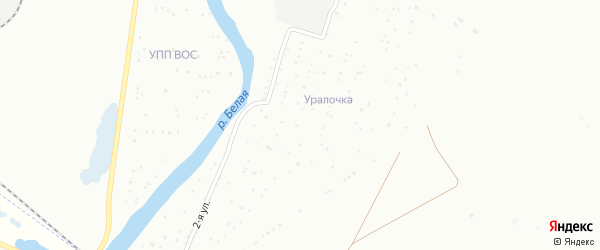 Сад Уралочка на карте Белорецка с номерами домов