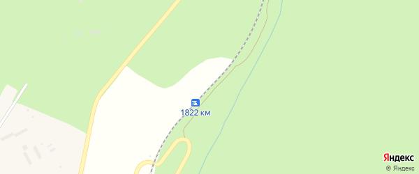 Станция 1822 км на карте Усть-Катава с номерами домов
