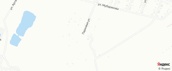 Западная улица на карте Белорецка с номерами домов