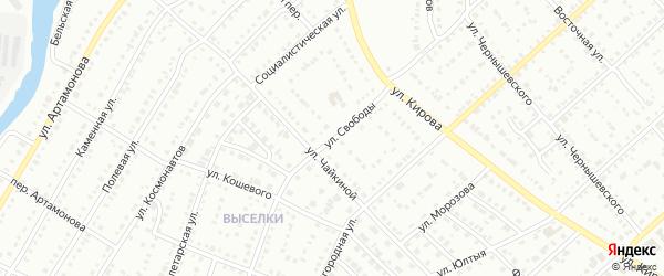 Улица Свободы на карте Белорецка с номерами домов
