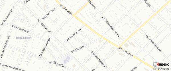 Олимпийская улица на карте Белорецка с номерами домов