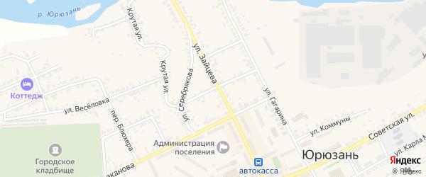 Заводская улица на карте Катава-Ивановска с номерами домов